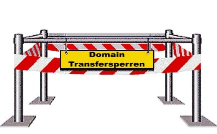 Domain Transfersperren