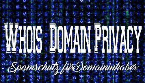 Whois Privacy Service